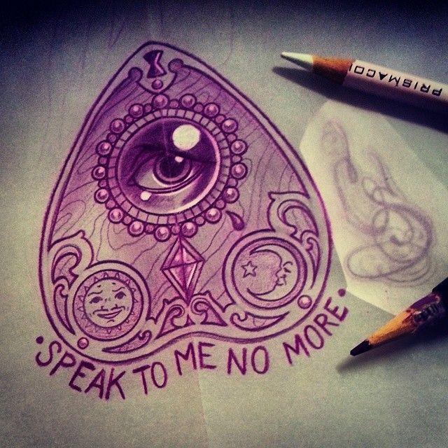Ruby Bell Rubybell35b Ouija Tattoo Tattoos Body Art Tattoos