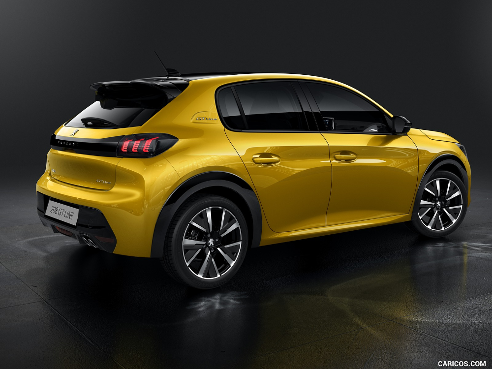 2019 Peugeot 208 Gt Line Peugeot Car Yellow Car