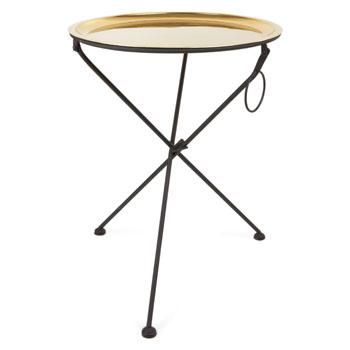 Folding Side Table I Zara Home Zara Home Side Table Round Wooden Tray Accent Furniture Living Room