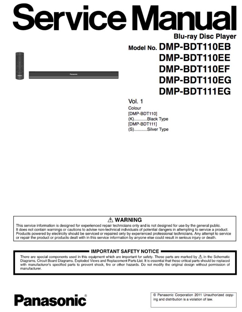 panasonic dmp bdt110eb dmp bdt111eg serive manual cpmplete pinterest rh pinterest co uk panasonic blu ray dmp-bdt110 manual panasonic dmp-bdt110 manual pdf
