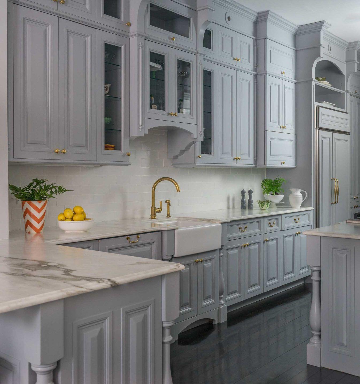 Light grey kitchen inspiration by liz caan co light
