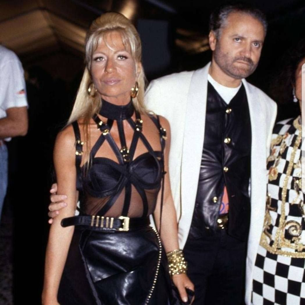 Donatella Gianni Versace Fashion Donatella Versace