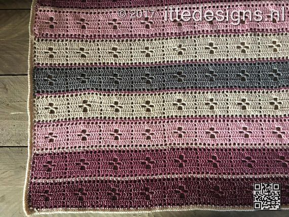 Crochet Baby Blanket Call The Midwife 80 X 105 Cm 31 X 41 Inch