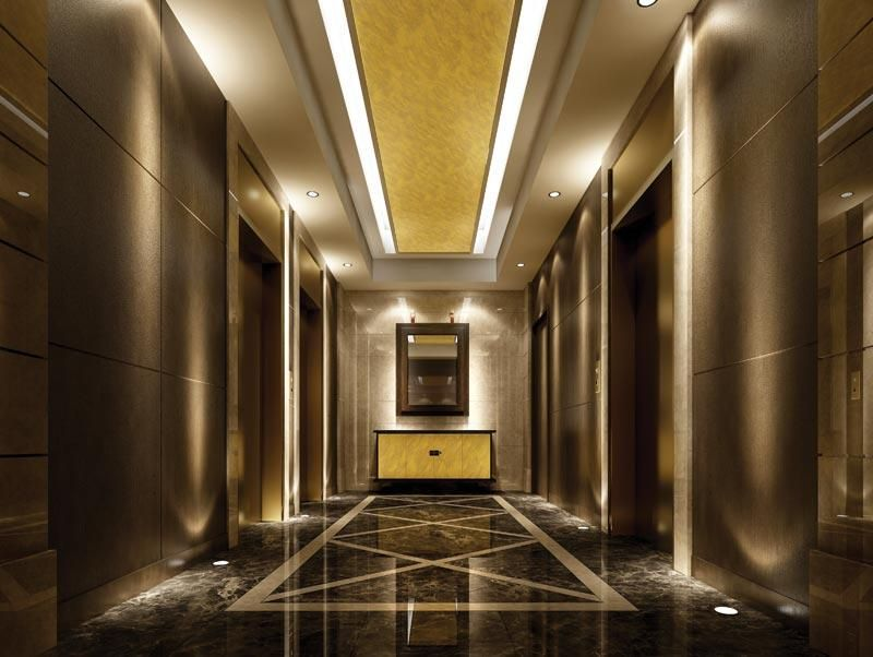 Simple lift lobby google search vinu pinterest for Simple hall interior