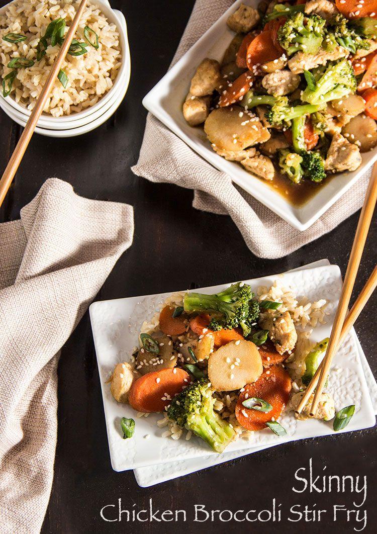 Skinny chicken broccoli stir fry recipe broccoli stir fry healthy cooking forumfinder Choice Image