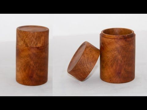 Wood Turning Beginners Guide 2 A Lidded Box Youtube