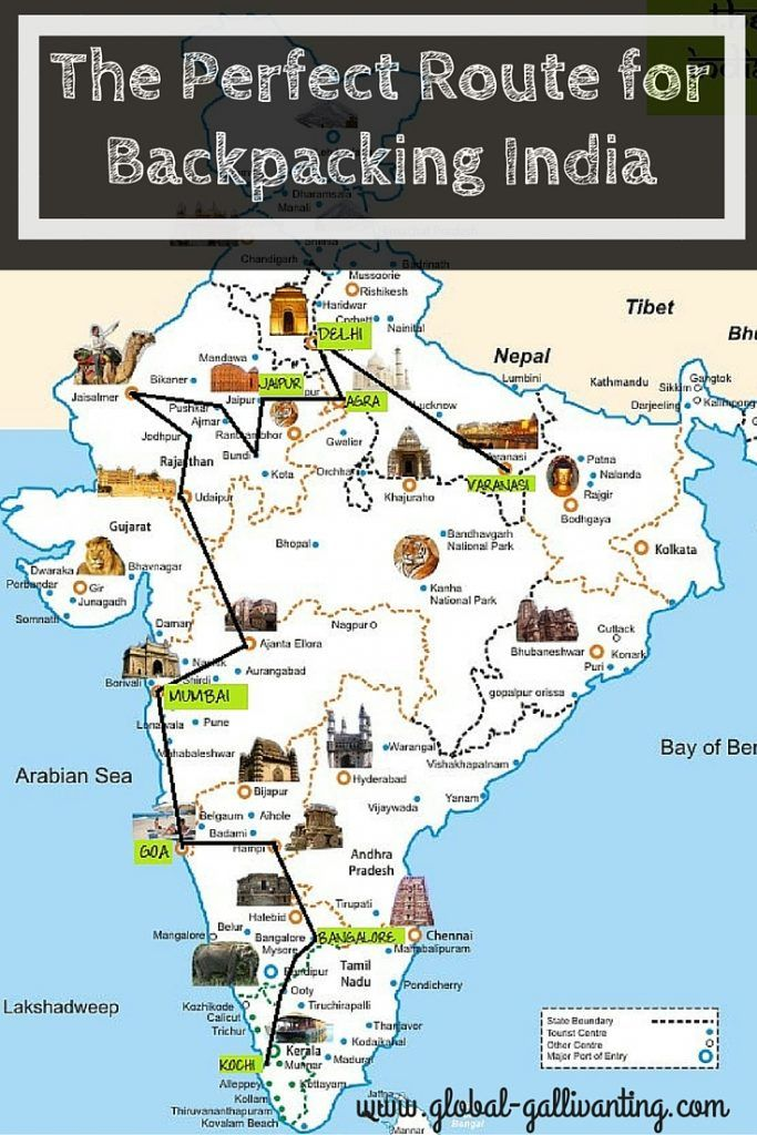 3be5030689c4 The Ultimate 3 Month Backpacking India Itinerary and Route