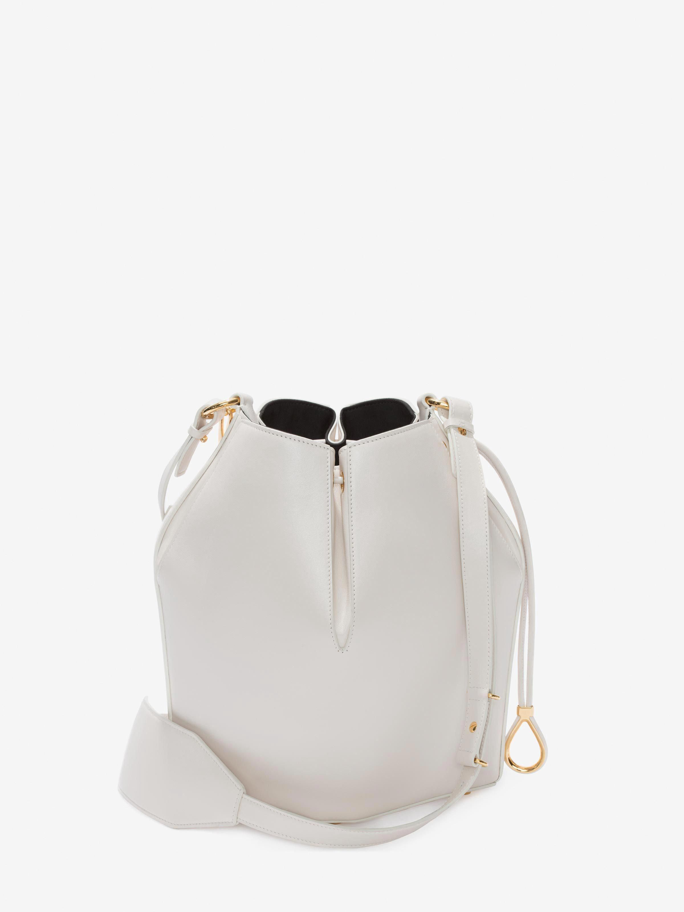 The White Off Mcqueen Alexander Bucket Onesize Bag qwfTyF5