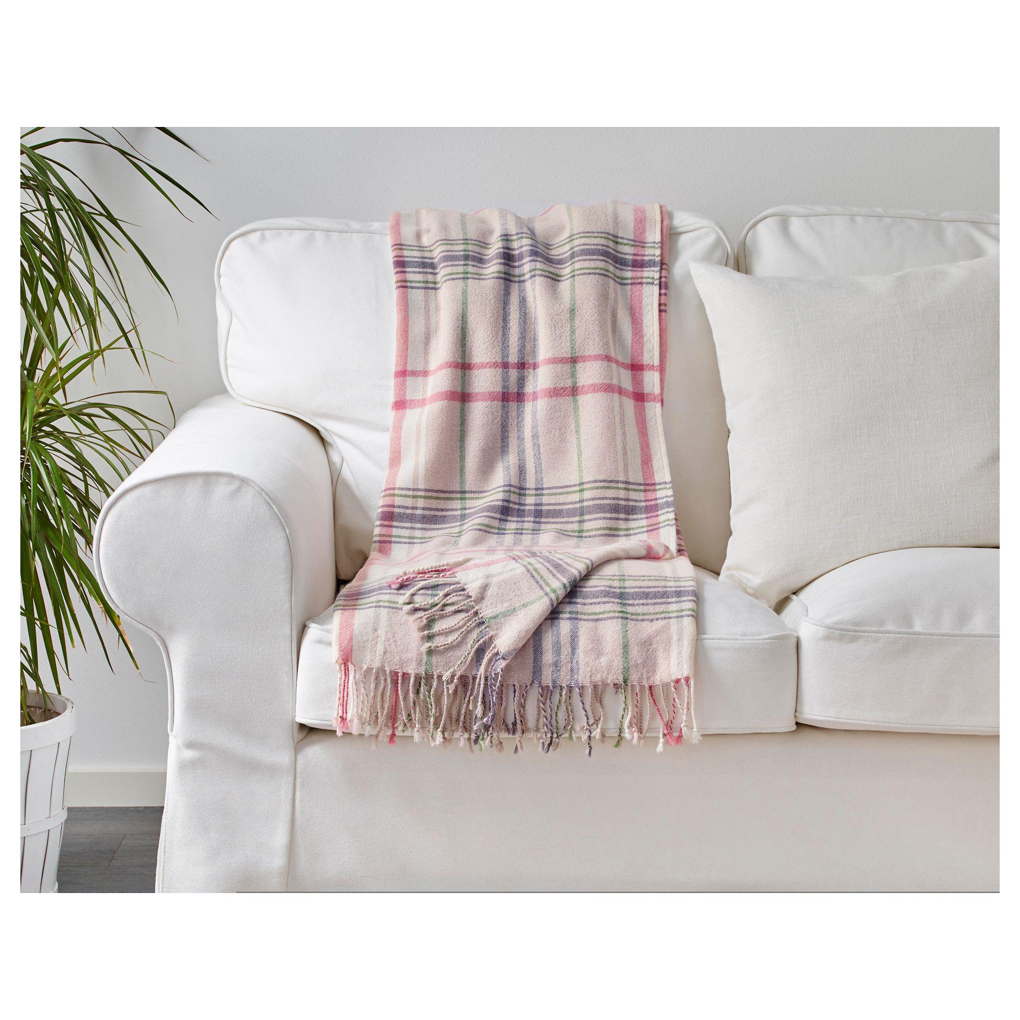 Schlafzimmer Len Ikea hermine throw beige pink 120x180 cm ikea flat