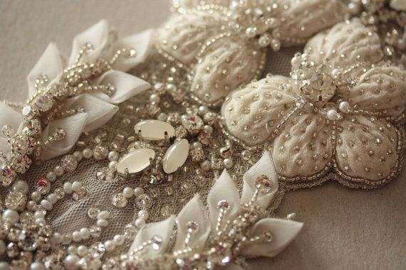 Millie ICARO Heirloom Wedding dress Sash Belt - PARIS ROMANCE 2015