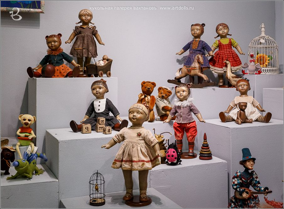 Кукольная Галерея Вахтановъ
