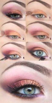 41 impresionantes looks de otoño para copiar lo antes posible | Maquillaje StayGlam Esta imagen tiene …