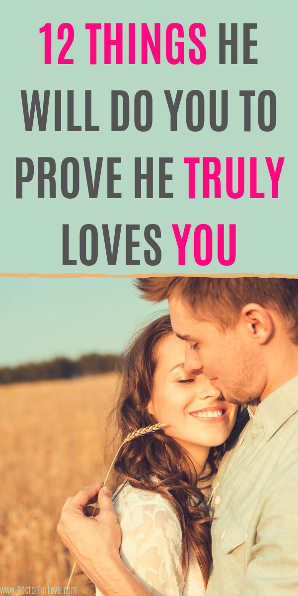 12 Obvious Signs He Deeply Loves You | Signs he loves you