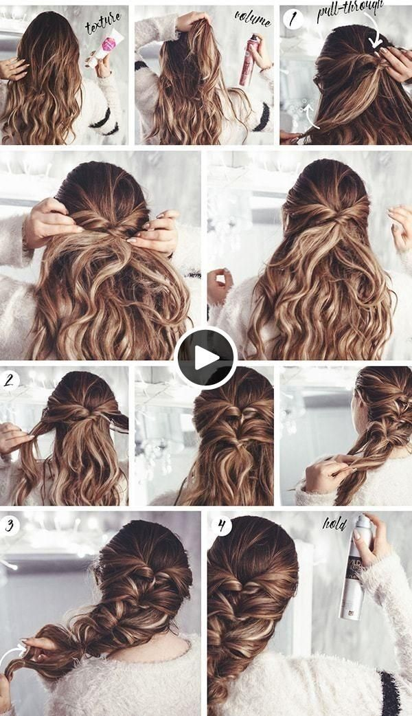 Simple and practical hairstyles  easy handy