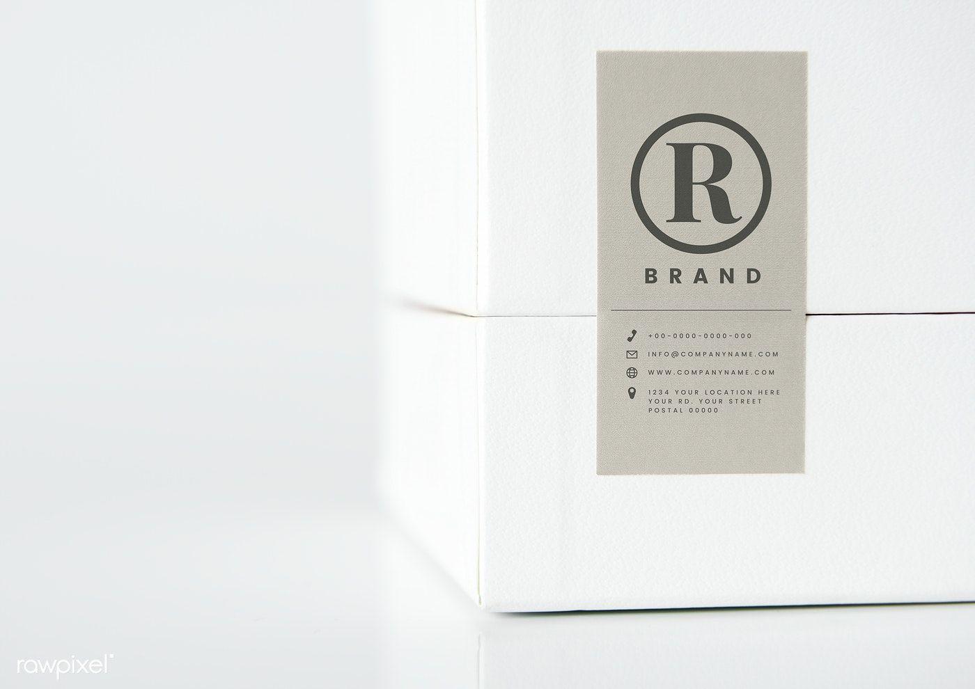 Download Download Premium Psd Of Simple White Packaging Box Mockup 531859 Box Mockup Box Packaging Design Freebie