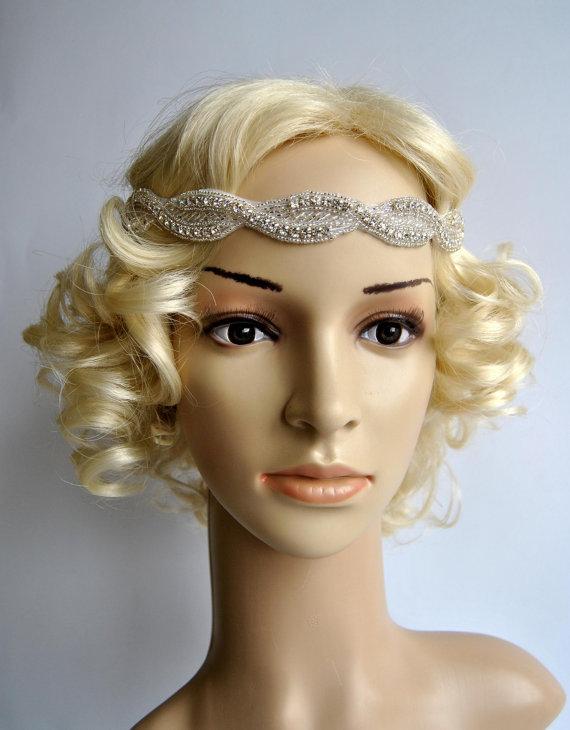 Bridal headband Rhinestone Headband 667e7210843