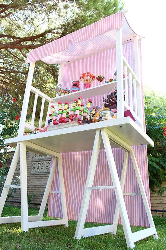 Kioscos candy kioscos y mesas candy pinterest for Kiosco bar madera