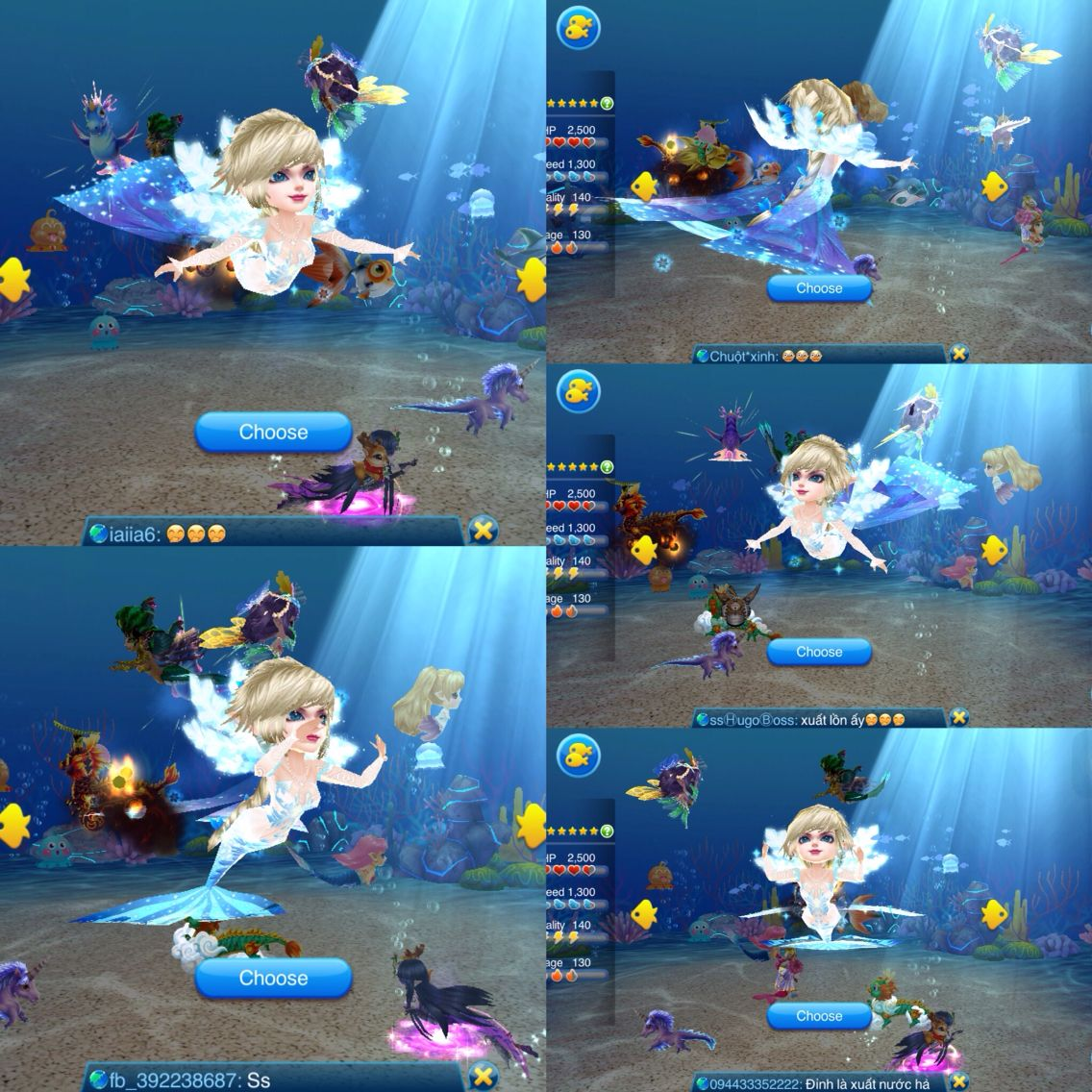 This fish snow queen cute . Follow me get many pic more about game Fish Festival #fish #festival #gameios #gameandroid #mobile #choica, #choi, #ca