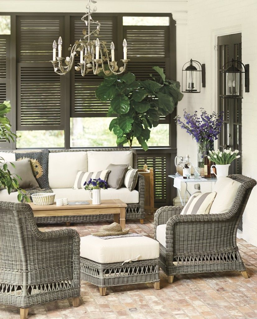 Cheap Beautiful Furniture: Inspiration: Back Porch Ideas