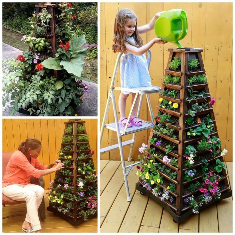 Amazing Stackable Planter Is Perfect For Growing 400 x 300
