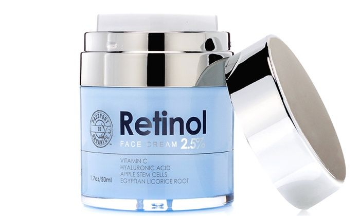 Passport To Organics Retinol 2 5 High Potency Anti Aging Cream