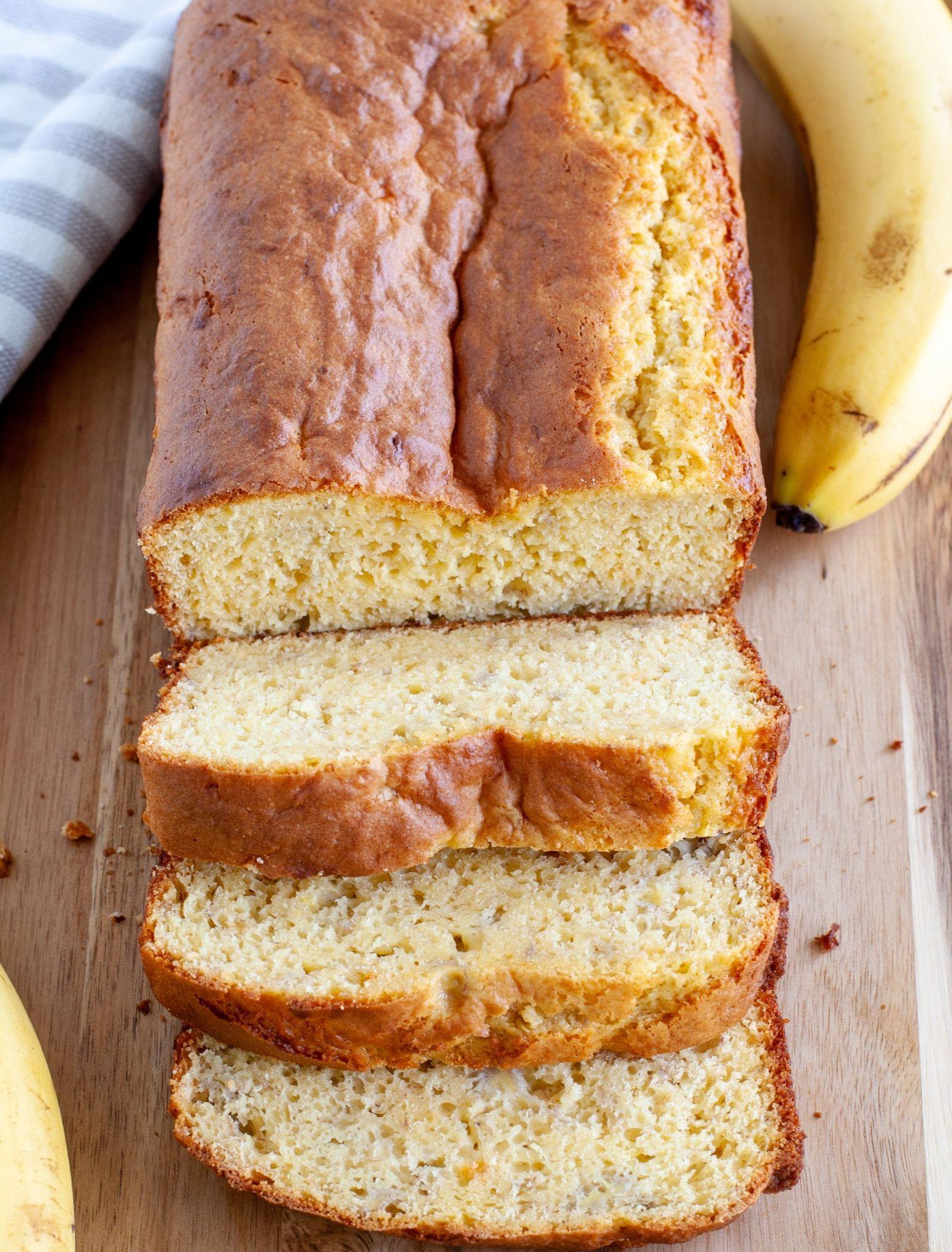 Cake mix banana bread in 2020 cake mix banana bread