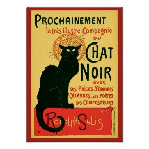 Vintage Tournée du Chat Noir