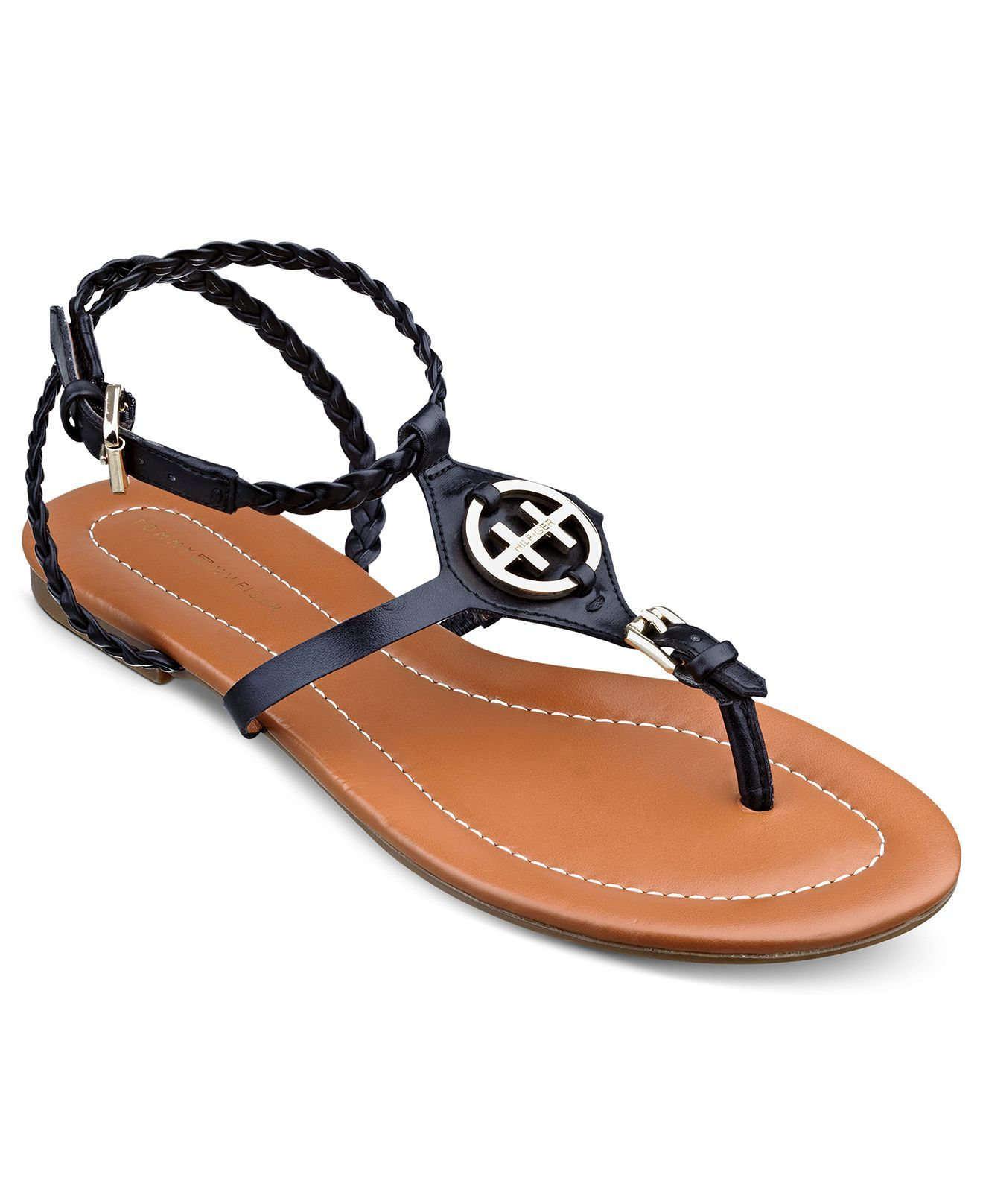 Tommy Hilfiger Strom Flat Sandals - Tommy Hilfiger - Shoes - Macy's