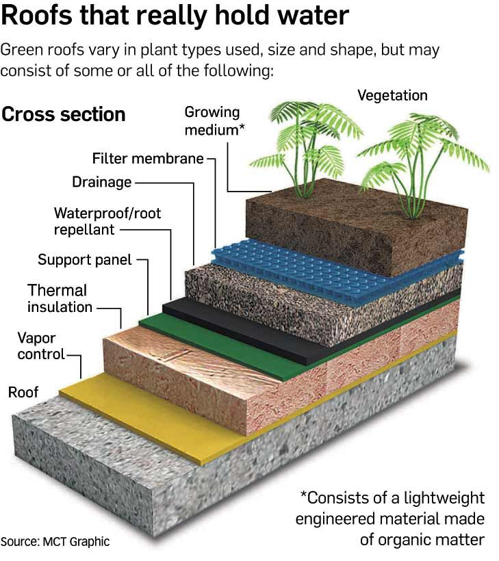 Green Roofs Environmental Benefits Green Roofs Can Be Advantageous