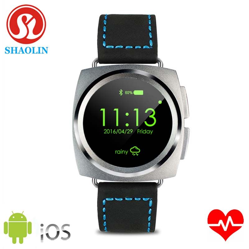 SHAOLIN 2016 Smart Watch MTK2502c Heart Rate Full Circle