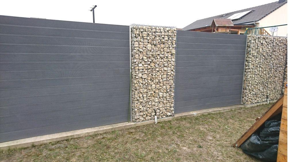 Gabionen Als Dekorativer Sichtschutz Gabionen Gartengestaltung Sichtschutz