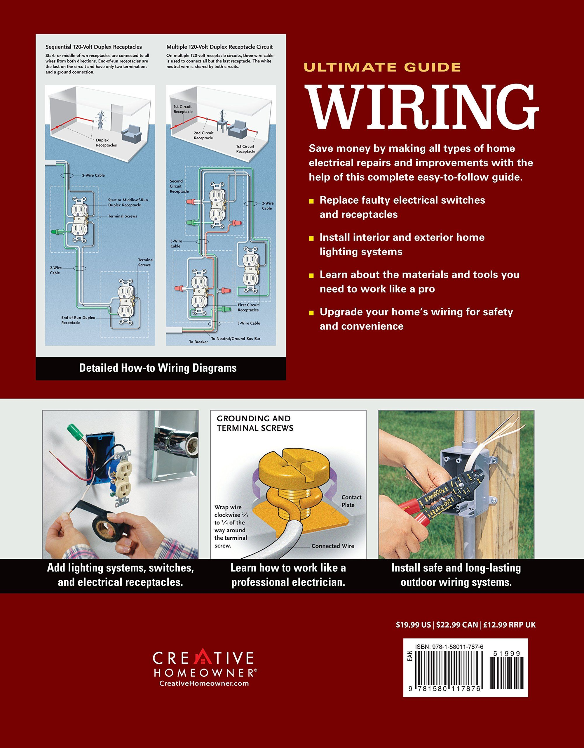 Ultimate Guide Wiring 8th Updated Edition Creative Homeowner Diy Home Electrical Installations Indoor Outdoor Lighting Electrical Installation Installation