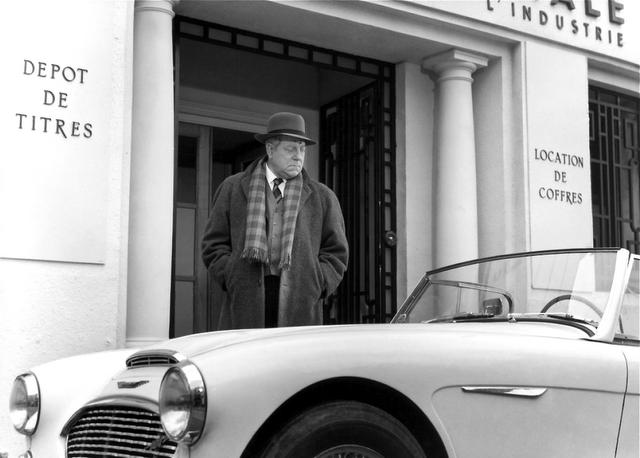 Jean Gabin Maigret Et L Affaire Saint Fiacre 1959 Jean Gabin Cinema Auto
