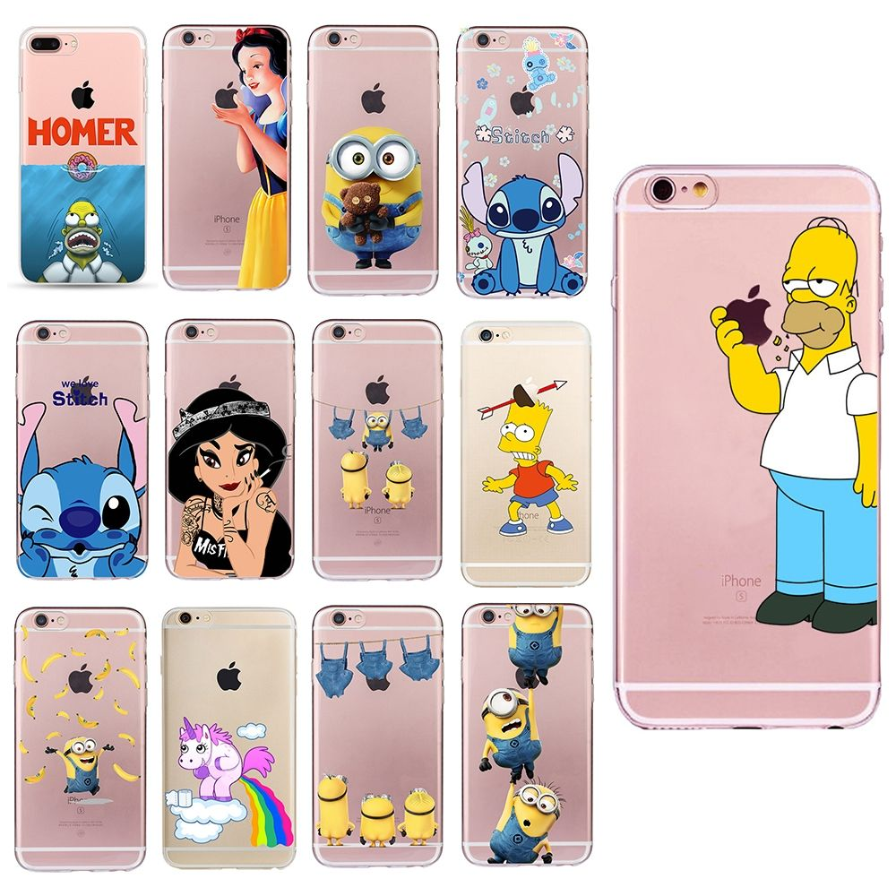 coque iphone 6 silicone simpson