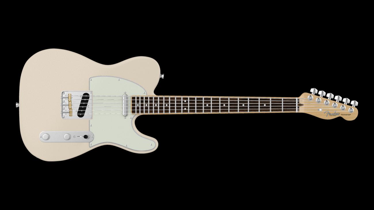Fender Sand Custom Tele Telecaster Shopping Guitar