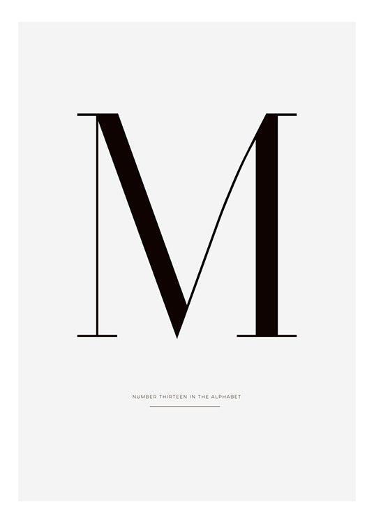Typografie-Poster... #bedroomdesignminimalist