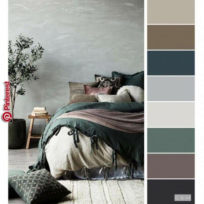 Pin By Negin Ghazazani On Kuhnya Bedroom Color Schemes Bedroom Colour Palette Bedroom Inspo Grey