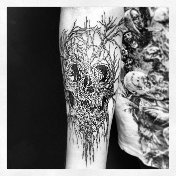By Fraktal @Ganesh Studio Tattoo México