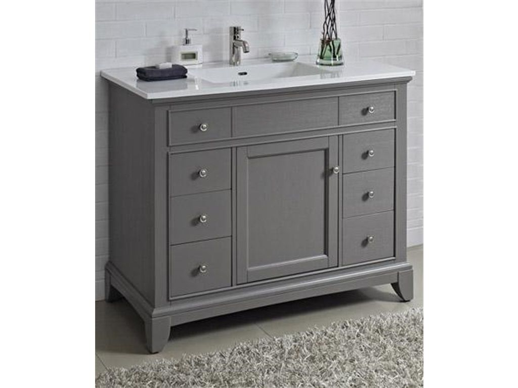 Superbe Astonishing 42 Inch Bathroom Vanity