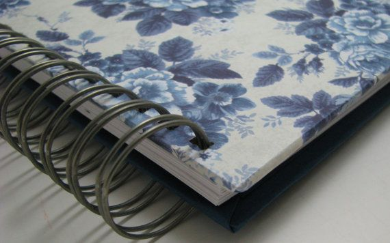 Quilter's Journal Memory Book-with Vintage by UsingTalentsForHim