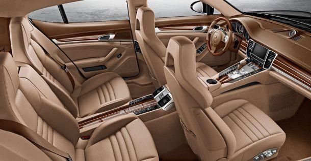 Porsche panamera 2015 interior