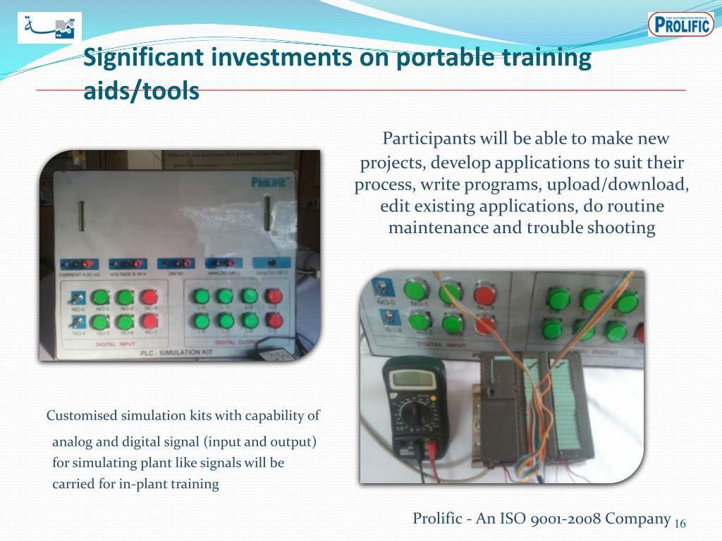 Plc training technology management train training courses