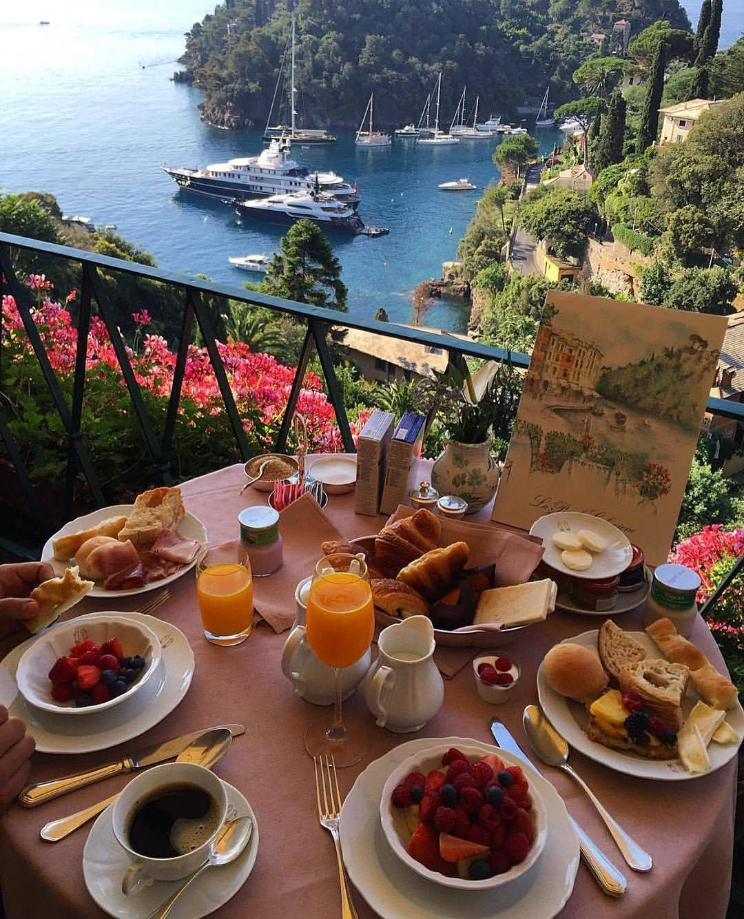 La Terrazza Cafe At Hotel Belmond Splendido Portofino