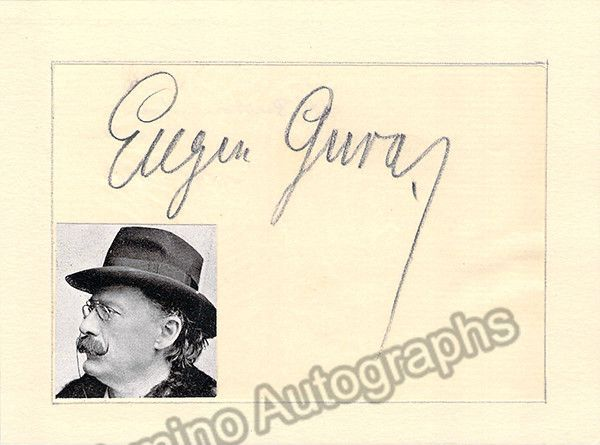 Gura, Eugene - Signed Card