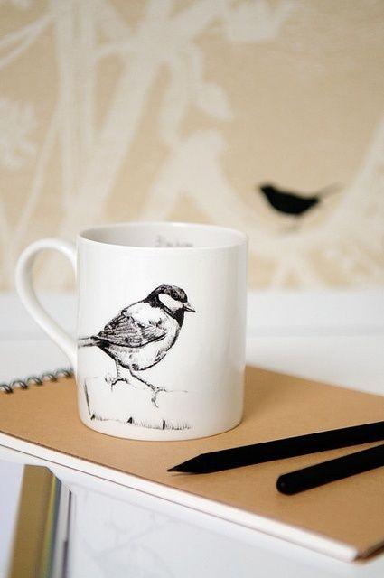 Bird mug | Mugs | Pinterest | Bird, Coffee and Coffee cup