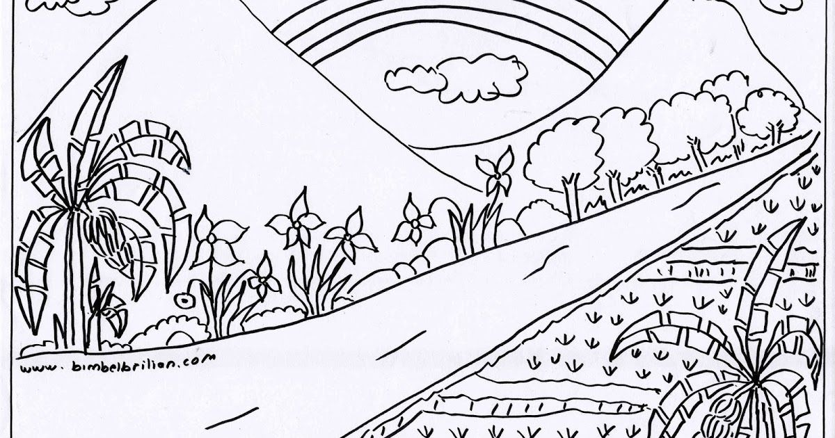 12 Gambar Ilustrasi Pemandangan Alam Hitam Putih Gambar Sketsa Kumpulan Gambar Sketsa Yang Mudah Di Gambar Menggunakan Pen Di 2020 Lukisan Lanskap Pemandangan Sketsa