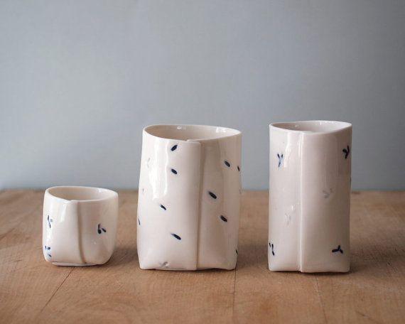 porcelain trio