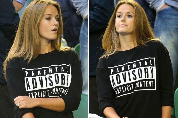 Kim Sears Wears Explicit Content T-Shirt