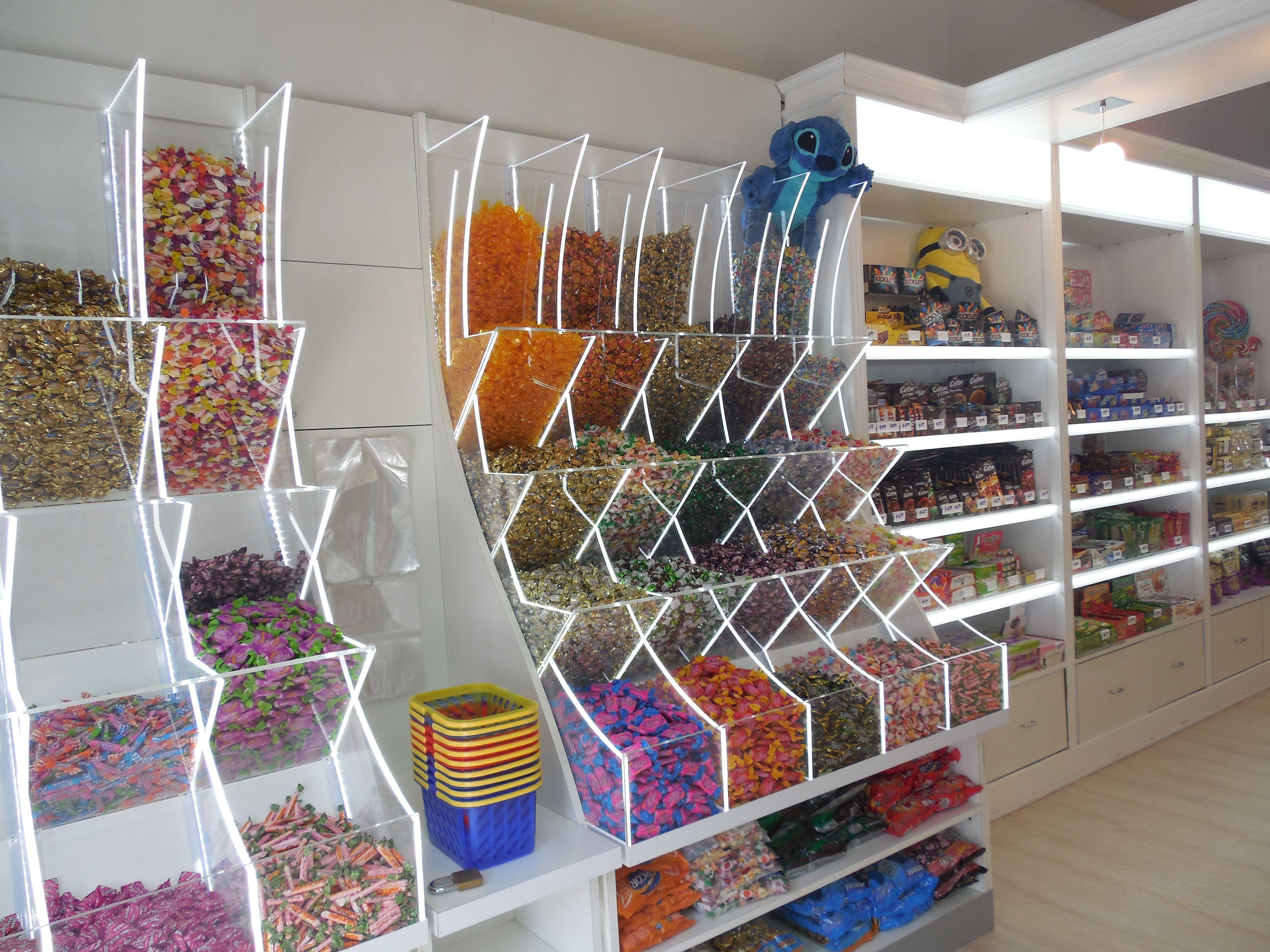 Carameleras candy stores y carameleras en 2019 tienda for Tiendas de muebles para restaurantes