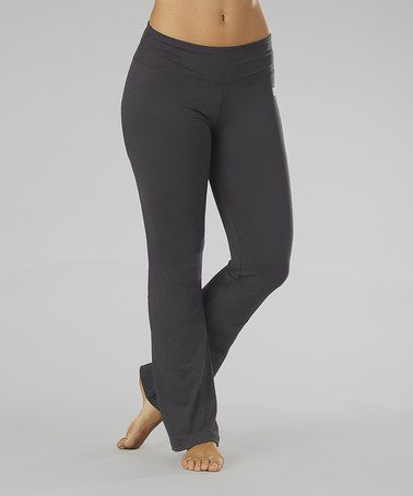 Another great find on #zulily! Carbon Straight Yoga Pants by Marika #zulilyfinds